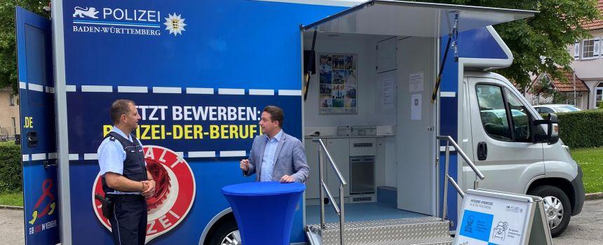 Kooperation zwischen Polizeipräsidium und Sportkreis Reutlingen